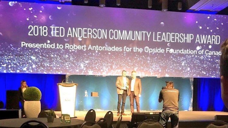 CVCA Announces 2018 Ted Anderson Community Leadership Award